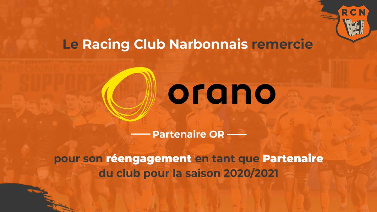Le RCN remercie @Oranomalvesi pour son soutien et son engagement depuis plus de...