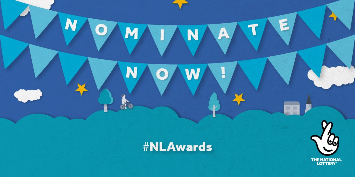 The National Lottery Awards are back for 2020! Nominations are now OPEN for lockdown legends, local heroes & community champions. Nominate an individual who's made a difference, & they could win £3,000 for their organisation➡️https://t.co/D9nkZ5UKl7 #NLAwards https://t.co/vK5iO2Isiy
