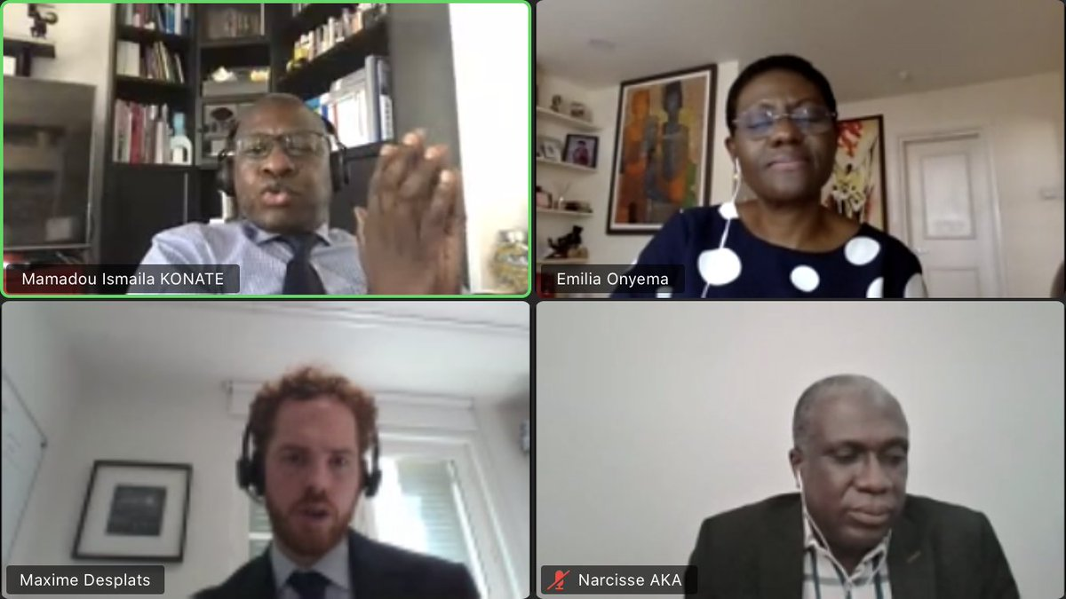 [#PAW2020: virtual edition] Day 2: 20 years of #OHADA #arbitration : what can be improved by @DLA_Piper. The session was moderated by Michael Ostrove and Maxime Desplats with Mamadou Ismaila Konate, Emilia Onyema, Christine Lecuyer and Narcisse Aka. https://t.co/n8BYtL6v5p