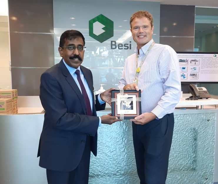 #throwback-A fruitful visit to BESI APac on 6 July 2020 led by Mr. S.Siva, ED of Investment Promotion, @OfficialMIDA. The   company, a subsidiary of Besi Group that is headquartered in Duiven, Netherland. https://t.co/G4VoNDpmhu