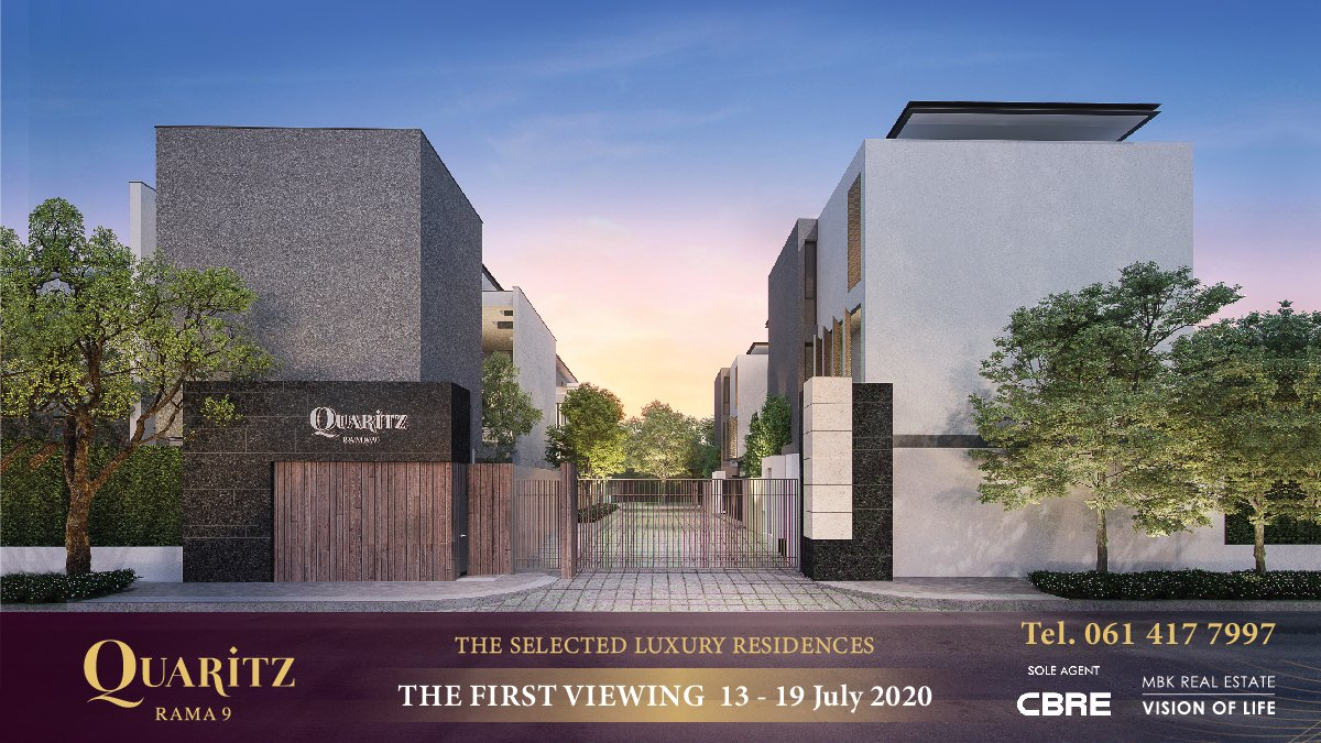 #LuxurySingleHouse   The First Viewing of 𝐐𝐔𝐀𝐑𝐈𝐓𝐙 𝐑𝐀𝐌𝐀 𝟗 this 13-19 July 2020. 💵 Prices at 86-110 MB* . For more information and special privileges, contact +66 61 417 7997 or https://t.co/ezuykZiPpV https://t.co/M60aBxgBSw
