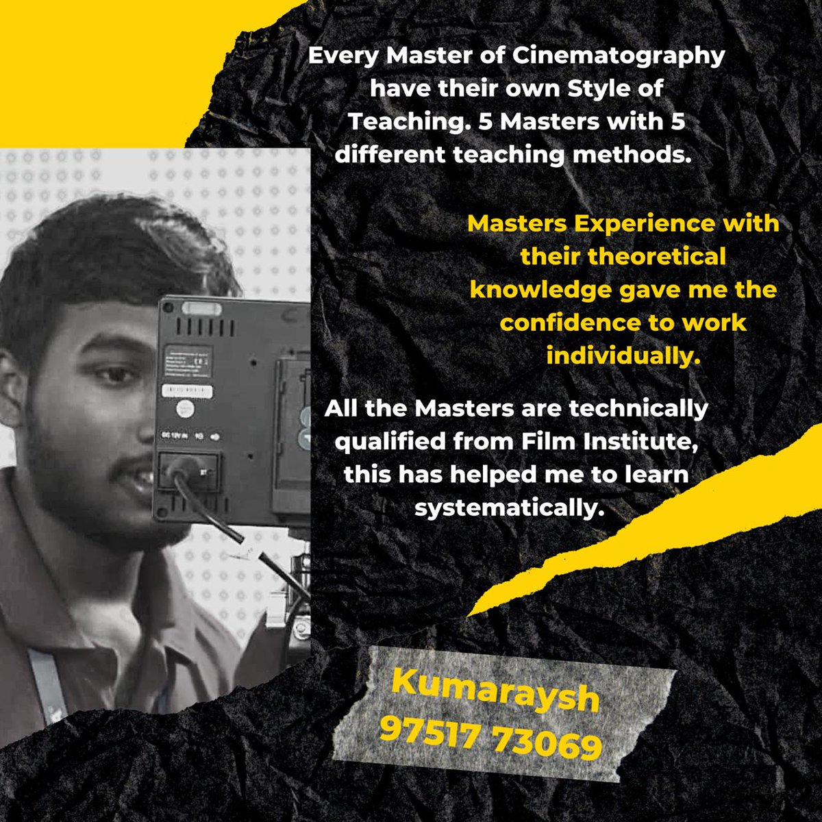 A Student Point Of View of BOFTA film institute on line classes we had conducted for current batch. Online live interactive classes for new batch cinematography starts by August 2020 Admissions contact: 9003078000/9003079000