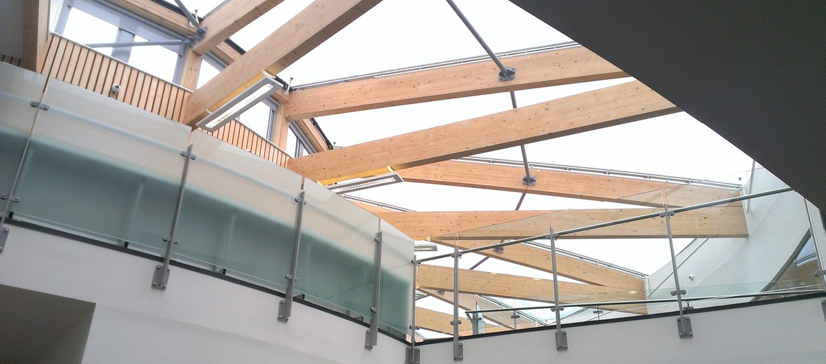 Glulam Beams supplied for Skinner's Kent Academy. The redevelopment captured the establishment's ambition to provide 21st century learning environment.  https://t.co/8Kfd9fO3ln https://t.co/o10ip71AYm