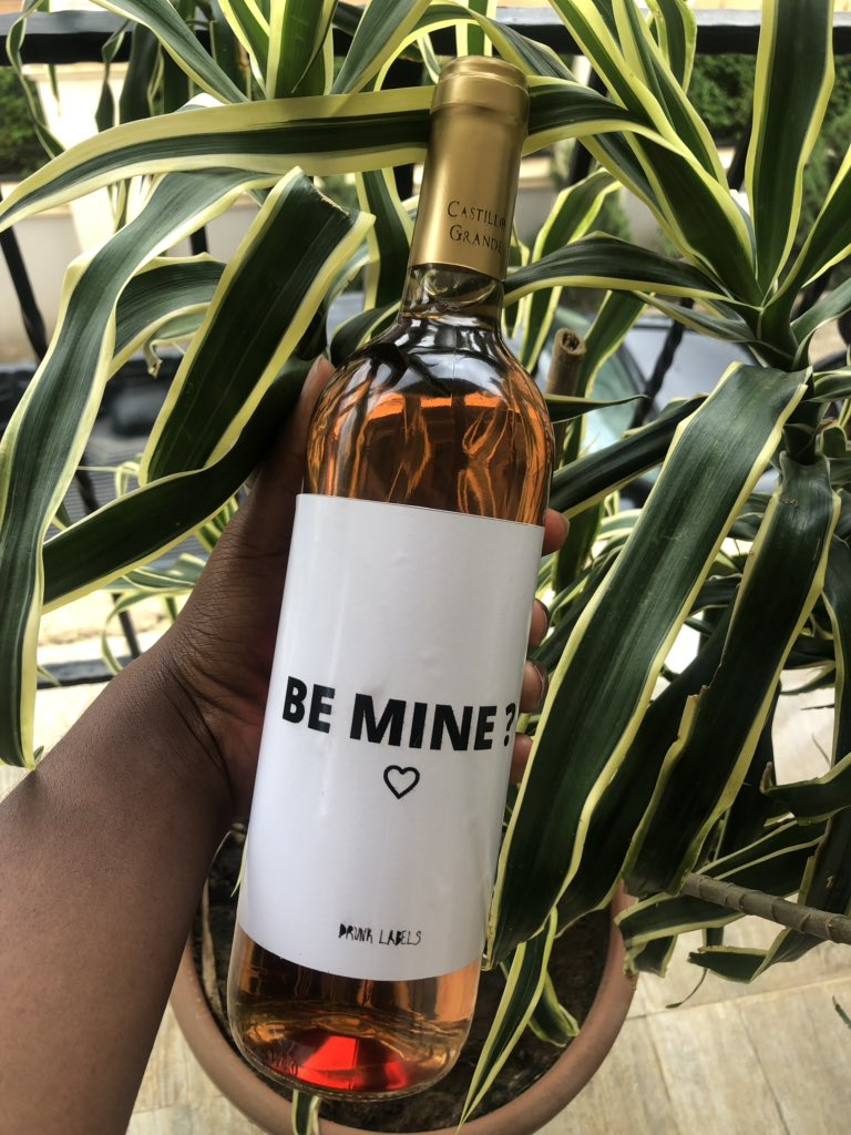 Be mine ?   Don't send them a text it's boring , send them a bottle of wine and let them know you ain't playing  #AbujaTwitterCommunity #Abuja #abujavendorspic.twitter.com/lmpM9W7erl