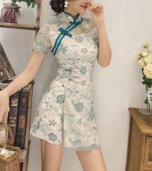 💛NEW ITEM💛大人気の私服系チャイナドレスに新作が登場🐼❤️涼しげなシースルー素材のアイテムはこれからの時期にぴったり👗✨私服系チャイナドレスをチェック▽