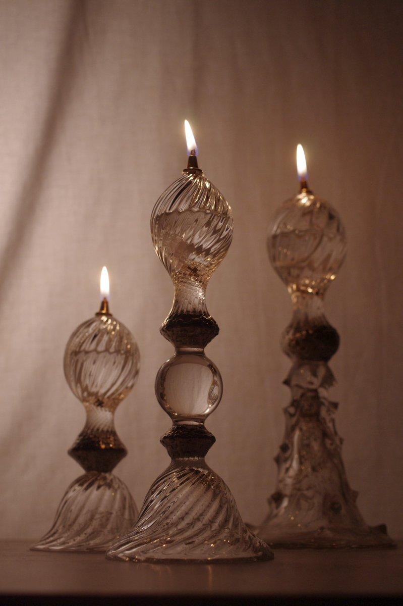 今週土曜(7/11)からP.P★★★ CRYSTAL 企画展『Oil Lamp 展』@FYPレッドウォール。新作オイルランプ、オイルボトルのほか、グラスや照明、アクセサリーなど。是非‼️ 詳細→bit.ly/2NJgFHy