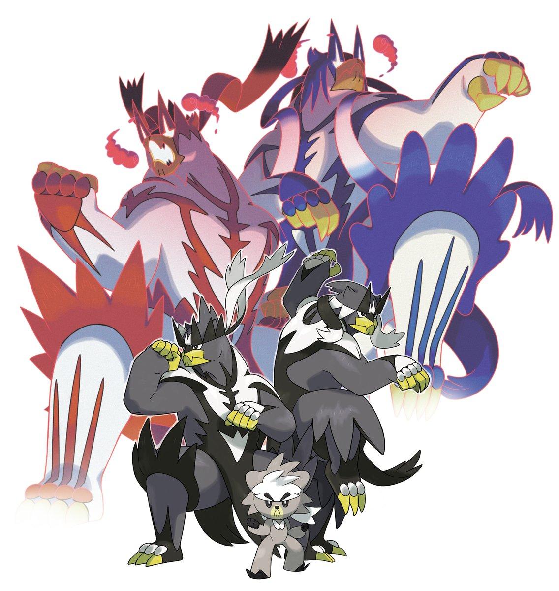 ゲームフリークさん開発のNintendo Switch用ゲーム『ポケットモンスター ソード・シールド エキスパンションパス』第1弾「鎧の孤島」に登場するポケモン、「ダクマ」「ウーラオス」のデザインとイラストを担当しました。