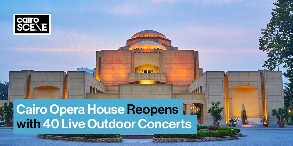 Starting mid-July, the @CairoOperaHouse will host 40 live concerts in its outdoor theatre.  https://t.co/MnkSm7ysWr https://t.co/mLCDydkSz8