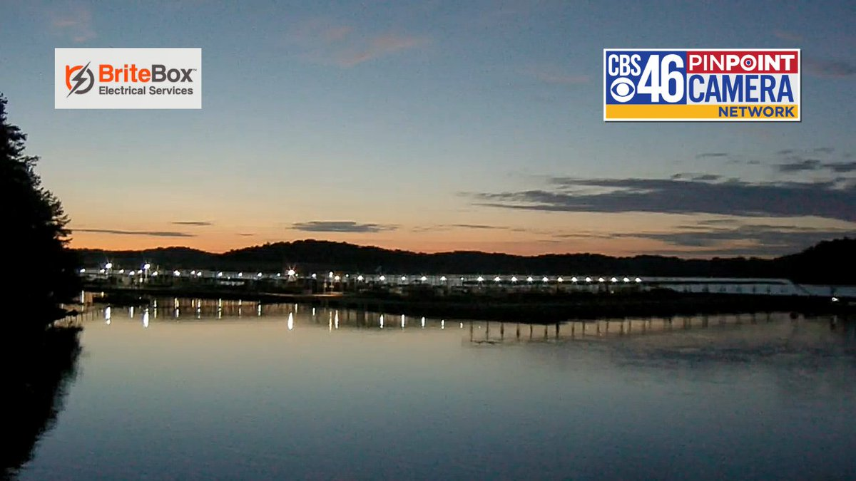 Good looking shot of Lake Lanier this morning from our Pinpoint Camera Network. Expect some sun this morning with afternoon t-storms developing.  Full forecast: https://t.co/6a2qaQ9QEg #cbs46 https://t.co/uYNFEqLvJQ