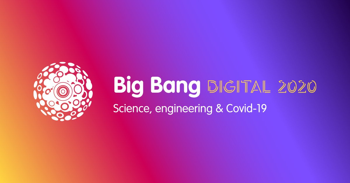 Who's joining us for a day of inspiring sessions looking at all aspects of #STEM in a #pandemic next Tuesday? 🙋♀️🙋♂️ Tell us by using the #BigBangDigital hashtag, and see you on our website at 10am sharp! #STEMevent #STEMed #STEMeducation #STEMcareers https://t.co/zakJ8cC49w