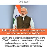 Image for the Tweet beginning: PM @narendramodi to interact with