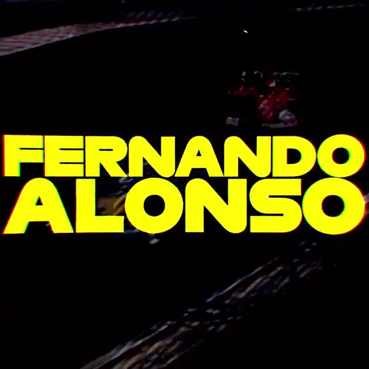 He's back!  #F1 @alo_oficial