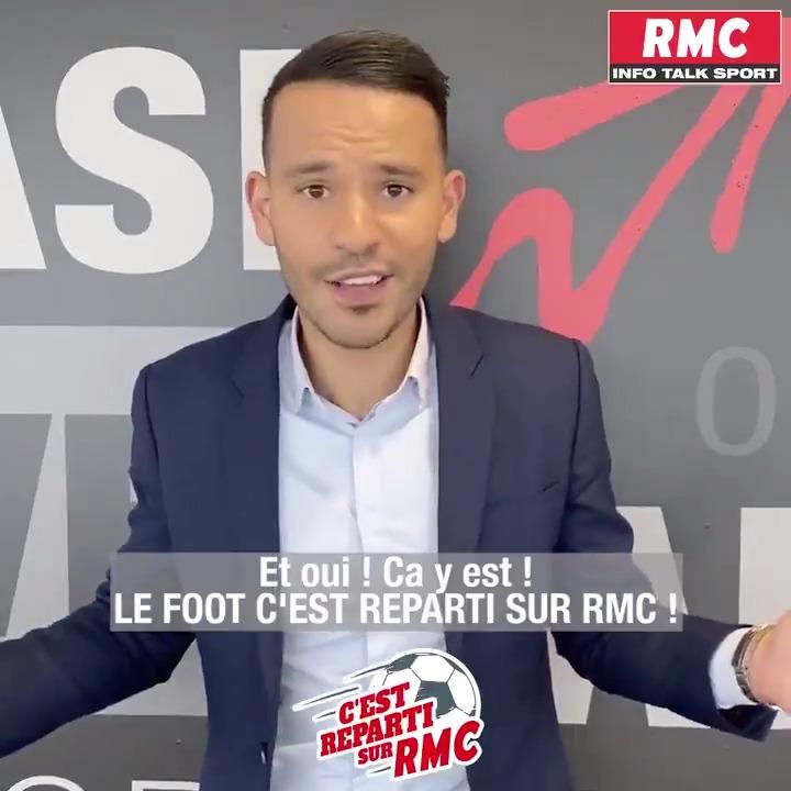 ⚽️❤️ LE FOOT CEST REPARTI SUR RMC ! @mohamedbouhafsi est plus que prêt à vous faire vivre ce mercato de folie ! 📻 RDV tous les jours dès 16h sur @RMCinfo et @RMCsport pour connaître toutes les infos ! 😍