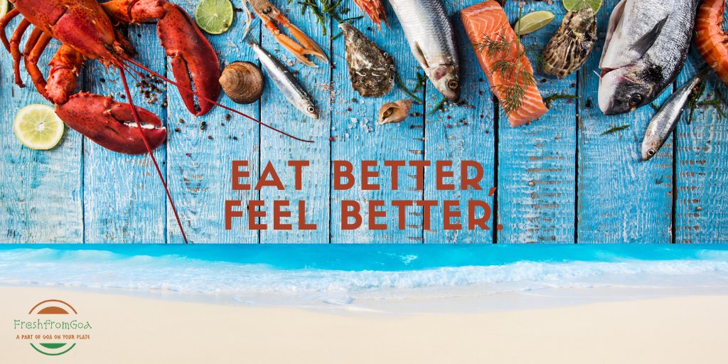 A random Google search on #SUPERFOOD would invariably lead you to a list that would include #SEAFOOD among others! So how about getting your superfood straight from #Goa. Coming soon... #Mumbai #Pune #Bengaluru https://t.co/NqvU35e3Bh