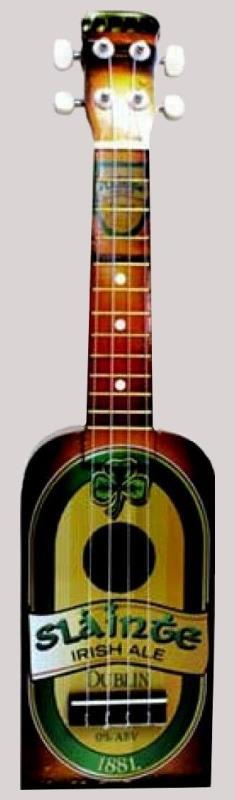 slainte nukulele bottle soprano at ukulele corner