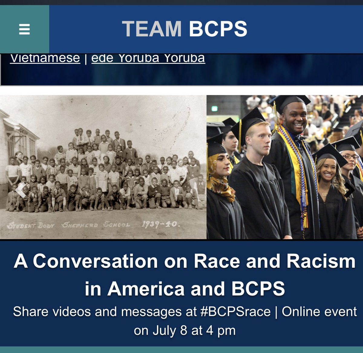 It's a great day for a conversation. Are you ready, Team BCPS? Let's do this!