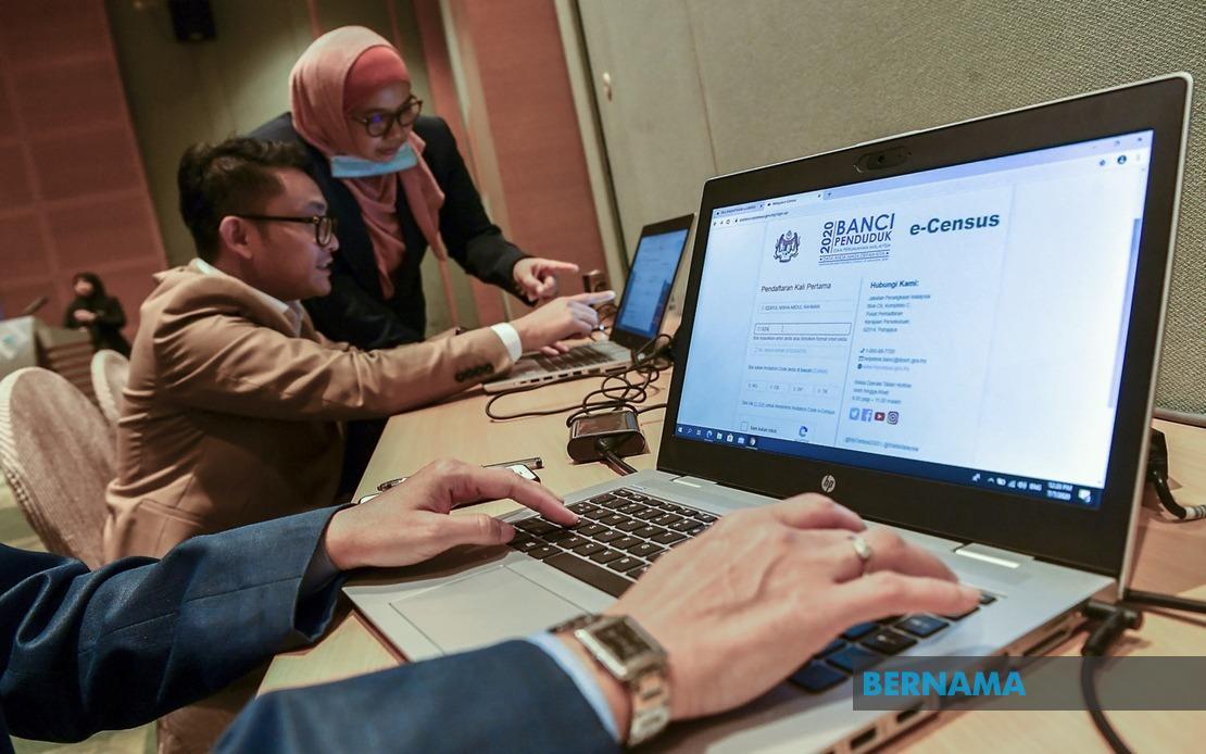 Banci 2020: Orang ramai sedia beri maklumat menerusi e-census  https://t.co/nPSIL2qEte  @StatsMalaysia #Banci2020 https://t.co/tQZYFToVgT