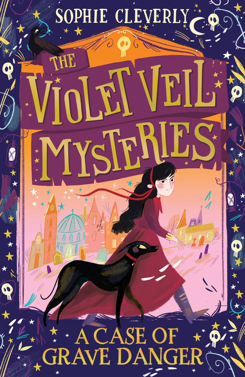Roll over Sherlock… there's a new detective in town!, @HarperCollinsCh signs a second series from @Hapfairy, with a middle-grade series, The Violet Veil Mysteries, illustrated by @hpillustration_! Find out more here: bit.ly/2O2HZ3y