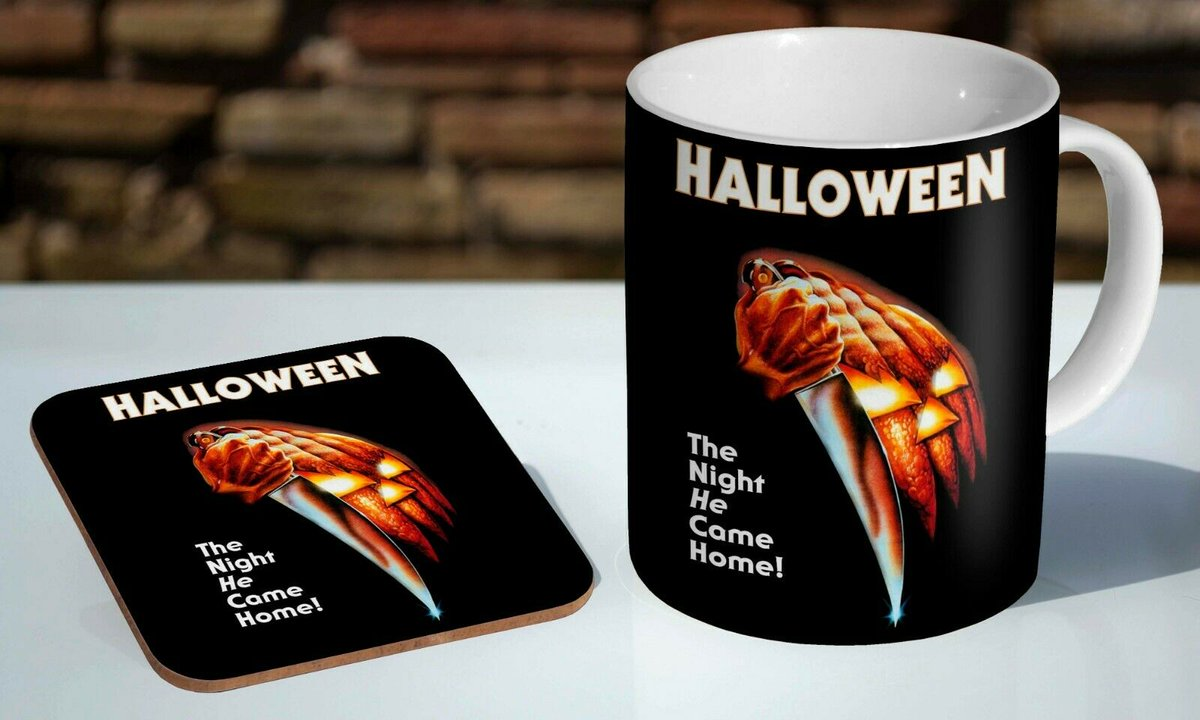 Anyone for tea or coffee?   https://t.co/TYNEofS5q4   #Halloween #HalloweenKills #HalloweenEnds #MichaelMyers #TheShape #HorrorMovies https://t.co/1rqvGPHGni