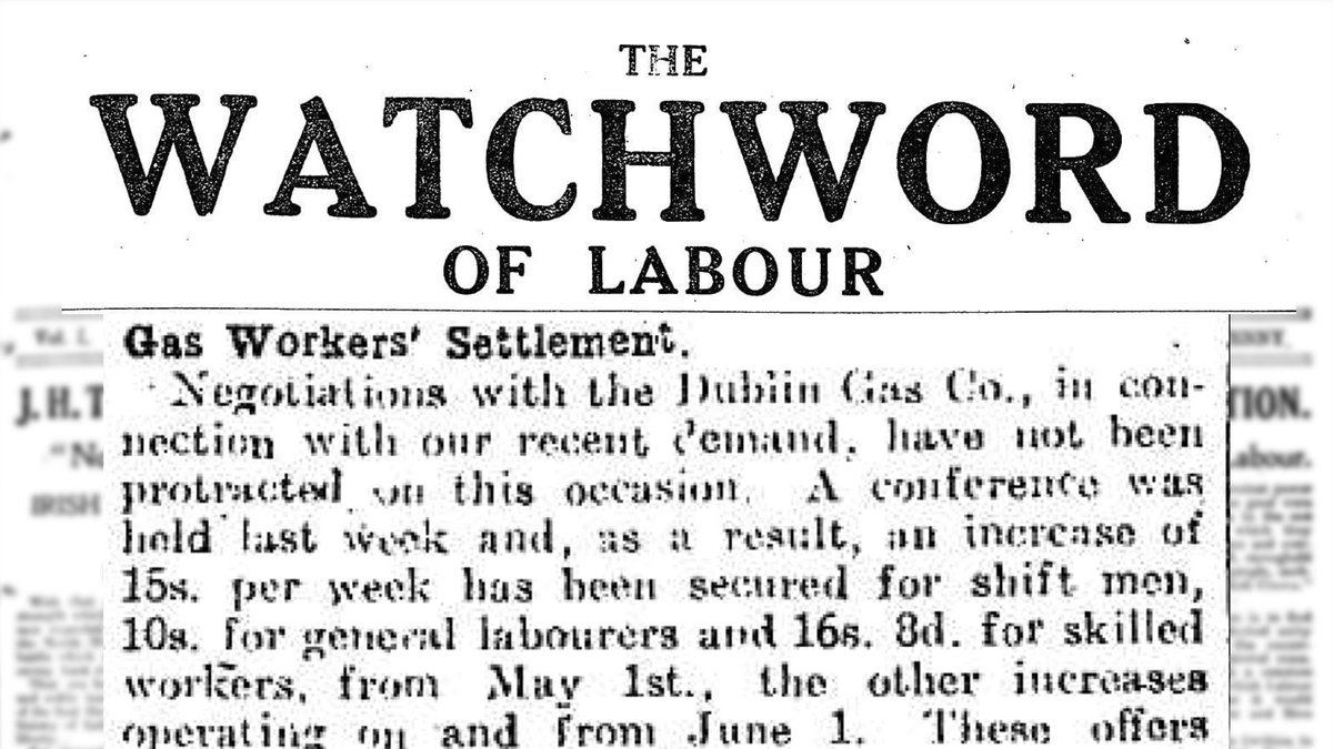 #Labour and #industrial unrest continues across #Ireland as workers continue the struggle for better working conditions #radicalnewspapers #radicalirish #irishhistory