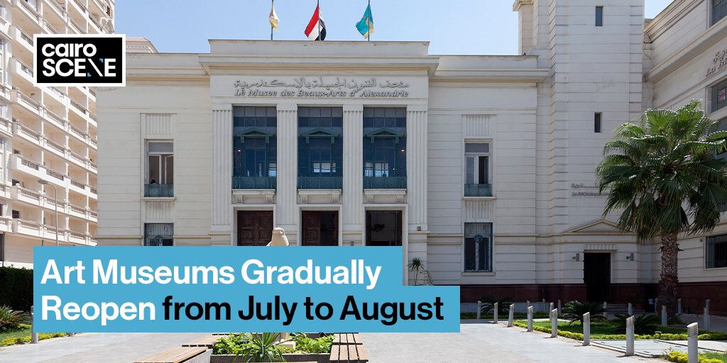 The nation's arts scene is gradually coming out of quarantine starting yesterday July 7th, with the opening of the Umm Kalthoum Museum in Al Manasterly Palace, the exhibition of the Luxor International Art Forum, the Alexandria Museum of Fine Arts & more.  https://t.co/UHiOy2cAgC https://t.co/7BkKME4CFu