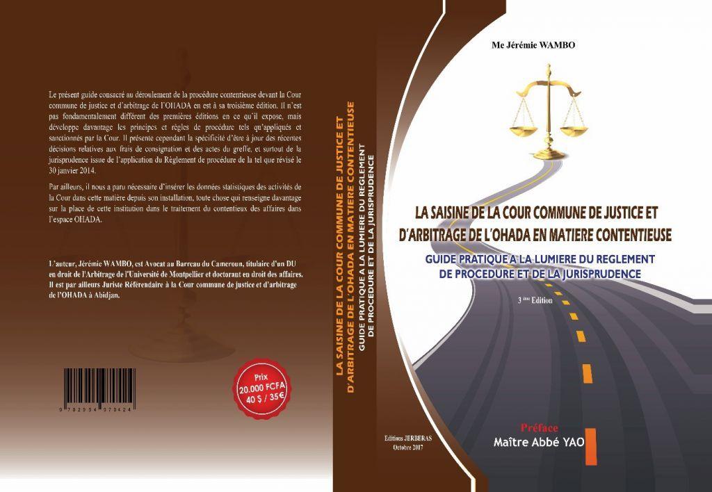 Actualité - OHADA / RDC / Séminaire sur la prévention des impayés et le recouvrement de créances en droit OHADA, du 23 et 25 septembre 2020 à Lubumbashi  En savoir plus ici : 👇🏾 https://t.co/PTOMgTXV5C  #ohada #droitdesaffaires #droit #ljao #justice #ccja #arbitrage https://t.co/x0stJaaKY2