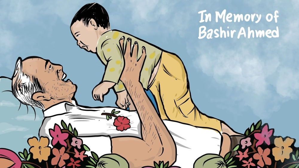 In memory of #BashirAhmed - A photo of a dead #Kashmiri and a toddler demonstrates another level of depravity in #India — writes @MirzaWaheed for #AJOpinion.  https://t.co/rAEOcOW3kR https://t.co/6TWN94SjM1