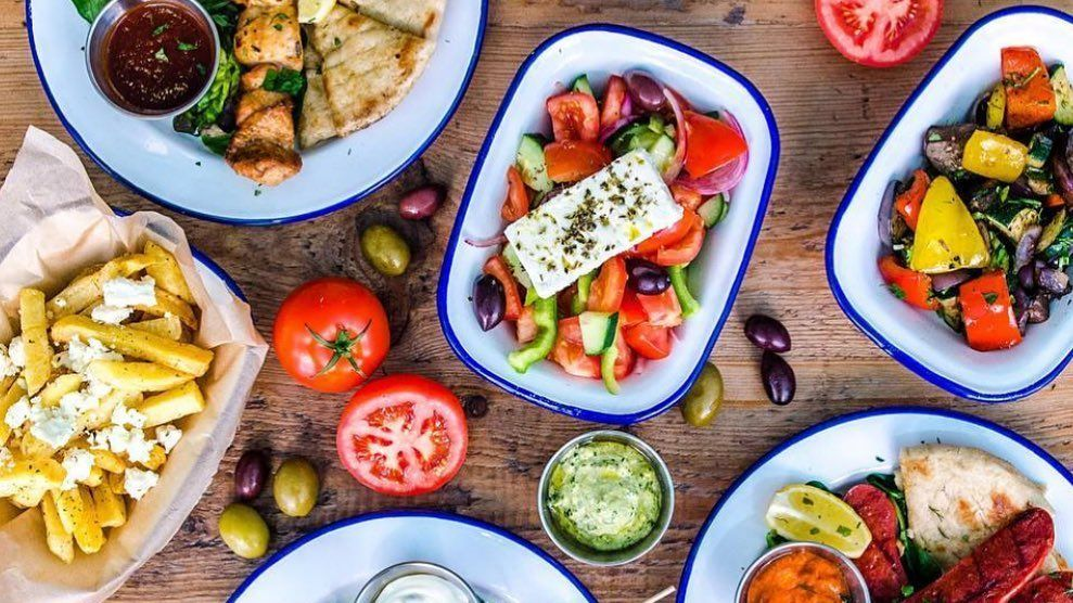 #WeAreBack and so are spreads like this from @GreekOnTheSt 🤤  Click here to register for entry https://t.co/hfbwEae0xD https://t.co/C5RGQ6fp1g