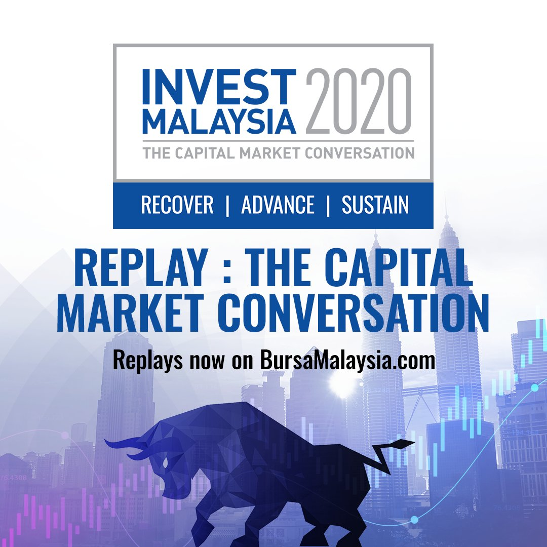 The Invest Malaysia 2020 Virtual Series 1 sessions are now available on our website. Catch replays of all 5 sessions at https://t.co/qxWc0bAnas https://t.co/Hwf2mAoAJ2