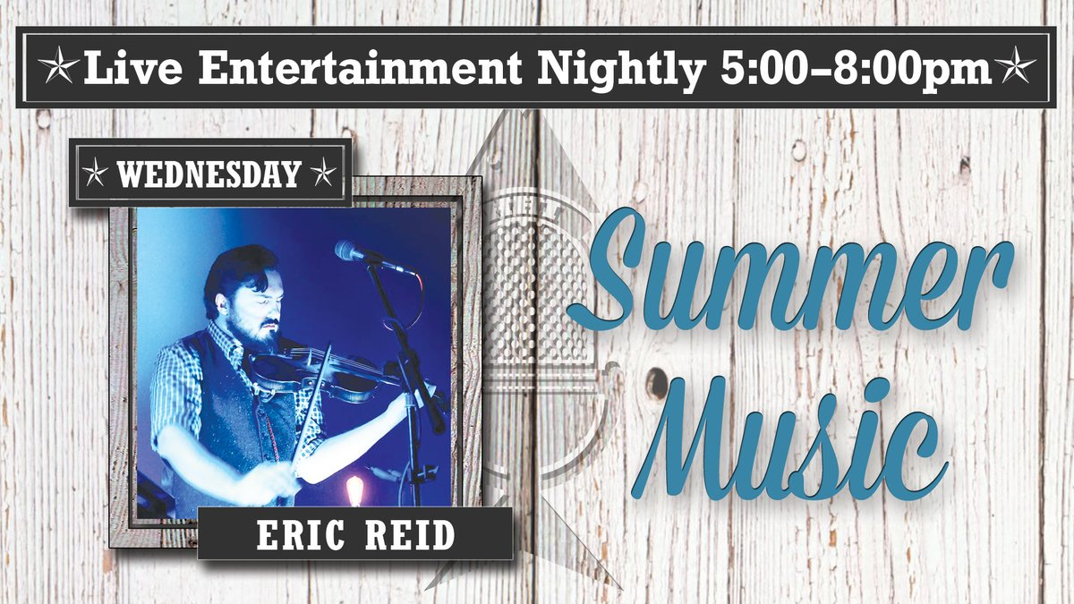 Live music with Eric Reid at 5:30 plus Happy Hour from 4-6pm! #hiltonhead #hhi #gofishhhi #hiltonheadisland #coligny #colignyplaza #colignybeach #lowcountry #seafood https://t.co/pT1p5ngNYH