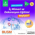 Image for the Tweet beginning: İç Mimari ve Dekorasyon Eğitimi