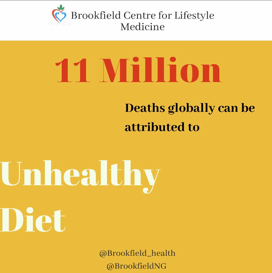 You food choices matter a whole lot. Do you feed or fight diseases with your meals?  . . . #BCLM #LifestyleMedicine  #preventativemedicine #Doctors #WholeMeal #PlantBased #HealthyLiving #PhysicalActivity #Nutrition #Undoit #Health #HowNotToDiet #BrookfieldHealth #Abuja pic.twitter.com/KrH1JpBU6A