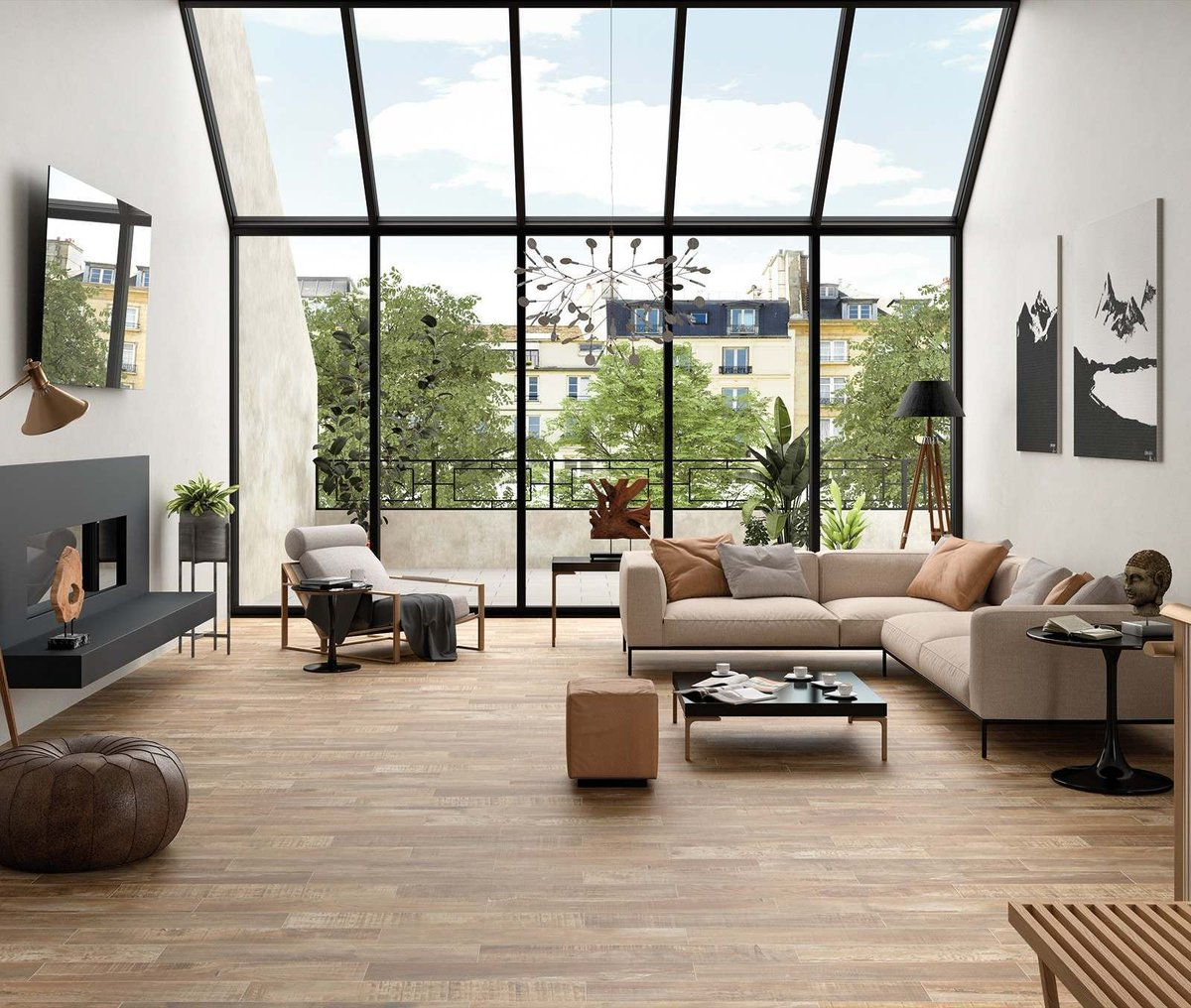 Love the look of wood? Check out our new Mikeno range. Made from procelain in a matt finish theyre available in three colour variants - Ash, Grey & Honey and priced at only £16.99 per sqm 🙂 tilemountain.co.uk/catalog/catego… #tiling #diy #flooring
