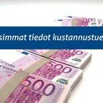 Image for the Tweet beginning: Yritysten kustannustuki kiinnostaa yrittäjiä. Ensimmäisenä