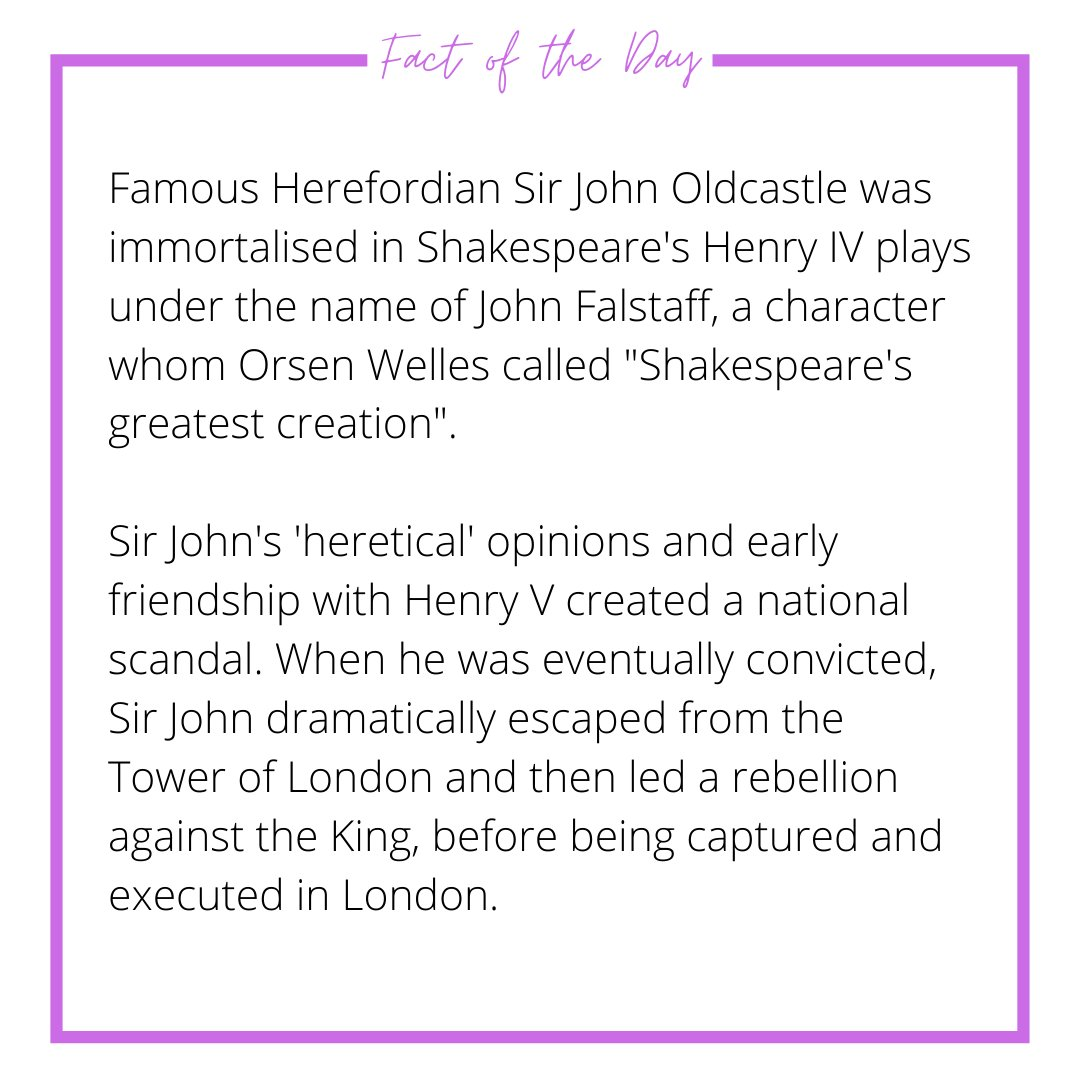 #hereford #herefordshire #tourism #fact #factsdaily #generalknowledge https://t.co/SBDTTXLVmN