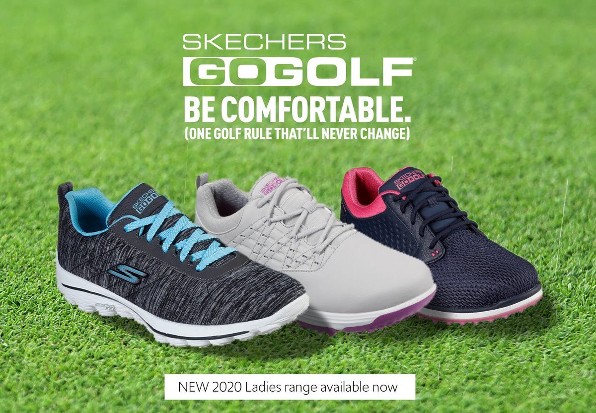 The new 2020 Ladies range from @skechersGOuk is out now. We love the new Max Glitter and Go Walk Sport range 🏌️♀️🔥#SKECHERS #WednesdayMotivation
