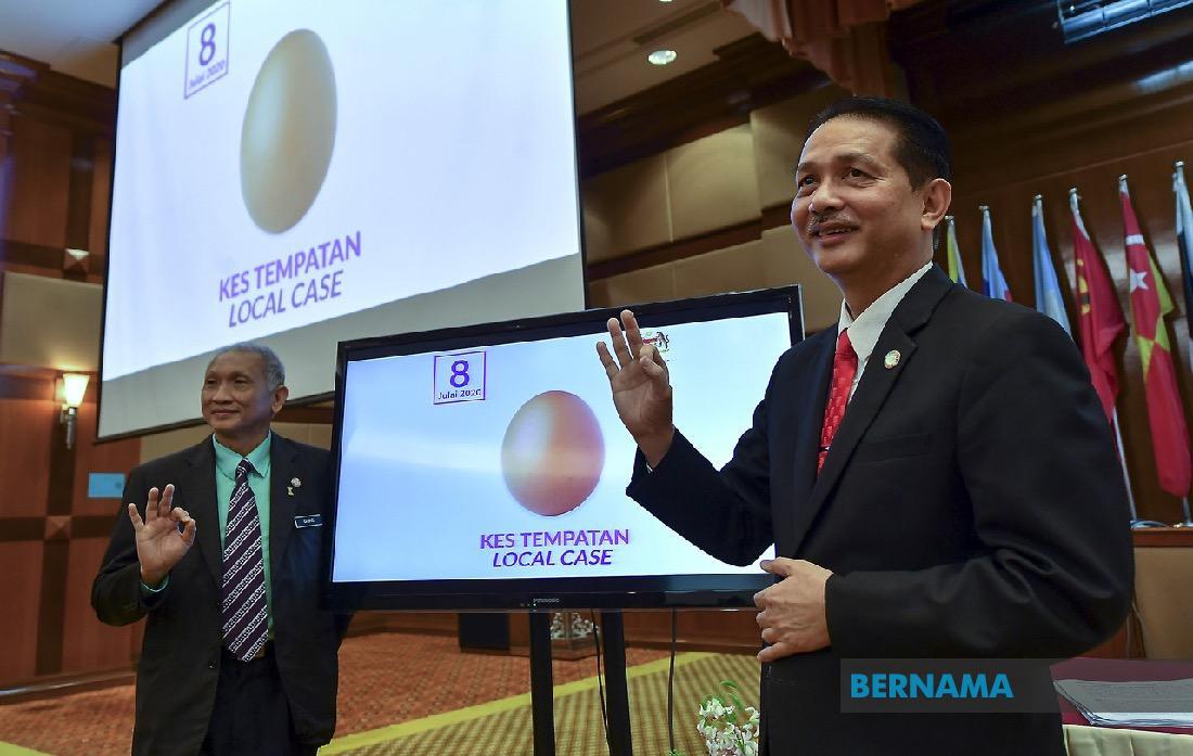 #COVID19 : Malaysia kembali catat sifar kes penularan tempatan - KP Kesihatan @DGHisham   https://t.co/2jjZUBP98O https://t.co/Aw5mfVhshQ