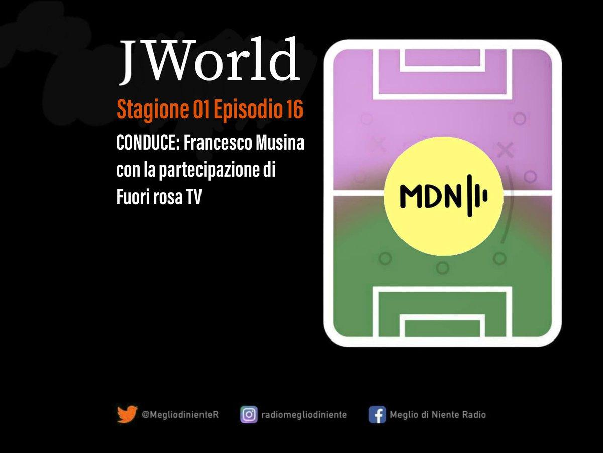 J-WORLD S01 E16 Ritorna dopo la lunga pausa per il #COVID__19, la rubrica sul mondo della #Juventus a 360°,con un'analisi sullo scudetto delle #juventuswomen, la coppa Italia dell #under23 e i #PlayOff che inizieranno domani Ci guiderà l'amico @FuoriRosaTV https://t.co/JjGgpaIU7x https://t.co/9GXzBs08GC