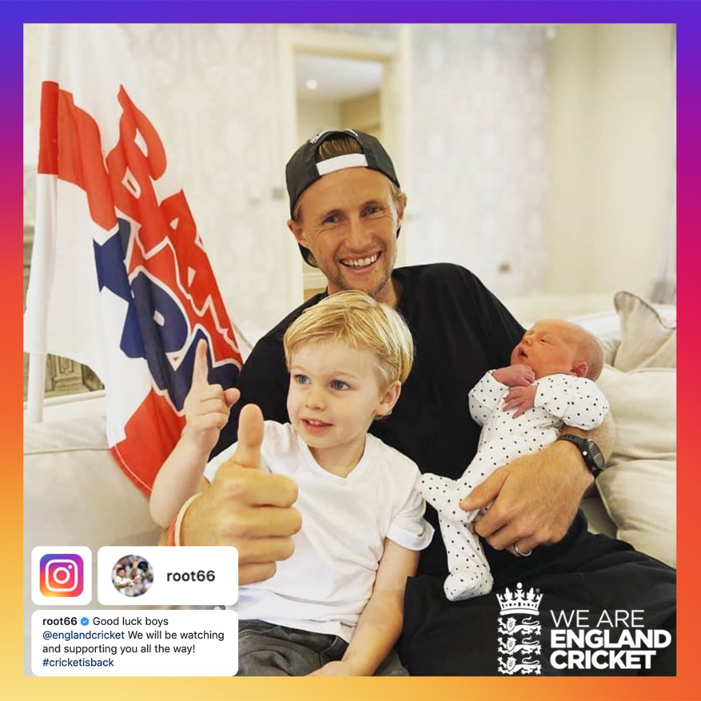 Huge congratulations for our Test captain @root66 and his wife, Carrie, on the birth of their second child! ❤️ https://t.co/om3QgNVIu8