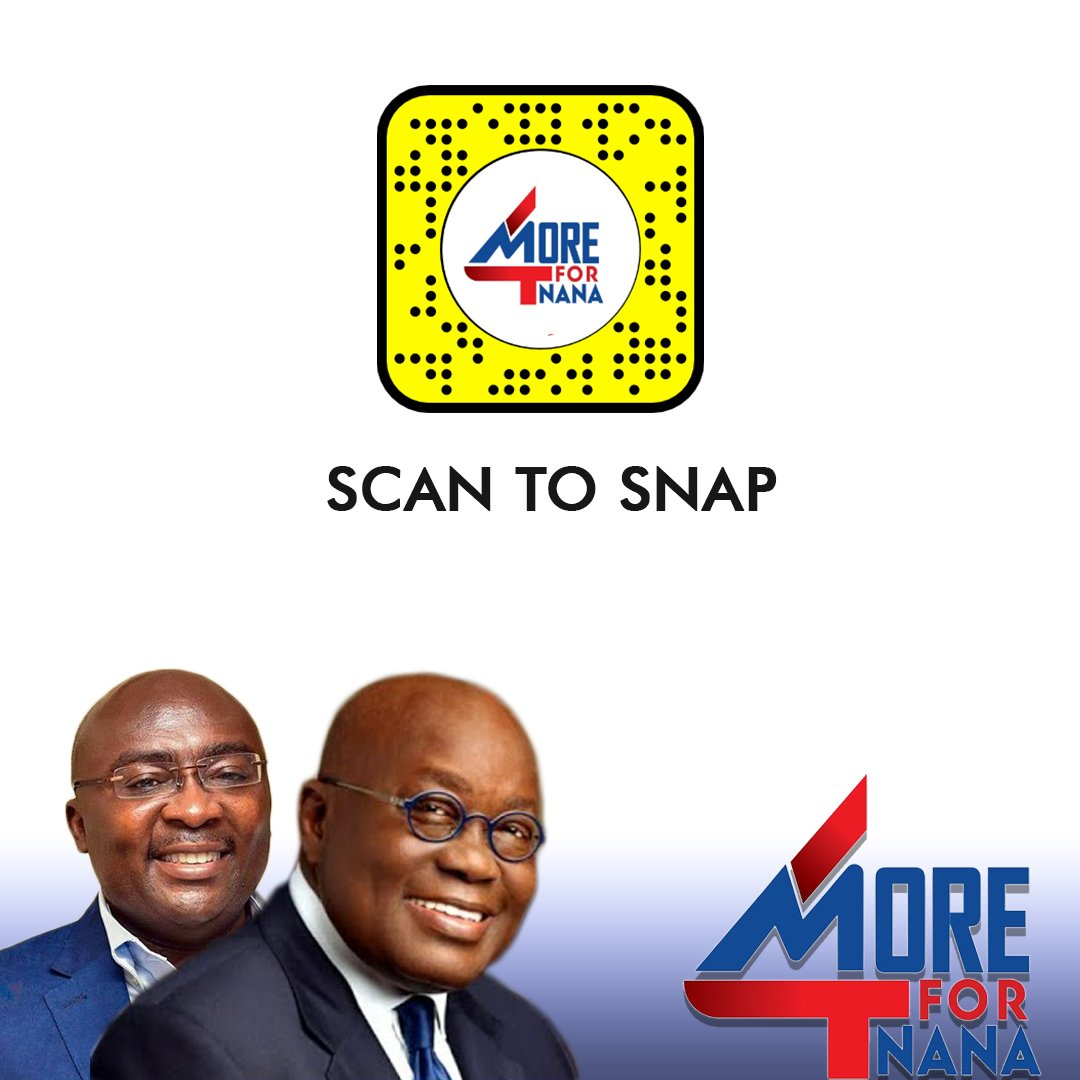 It's our political season and we are helping political brands engage their audience on digital platforms with creative media.   Support your party with our custom created snapchat filters.   Let's create a political thread with your videos.  #heyxola #NPP #NDC #4more4nana #Go4Jmpic.twitter.com/qWJMbD2iIC