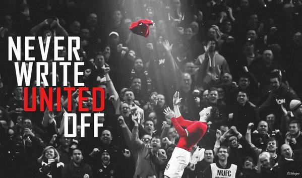 Suddenly all the other matches are not very interesting. It's all about our self now, win our league games, and our first aim this season is secured. Then on to winning some silverware, we are United after all. #MUFC https://t.co/SvpaXyapAR