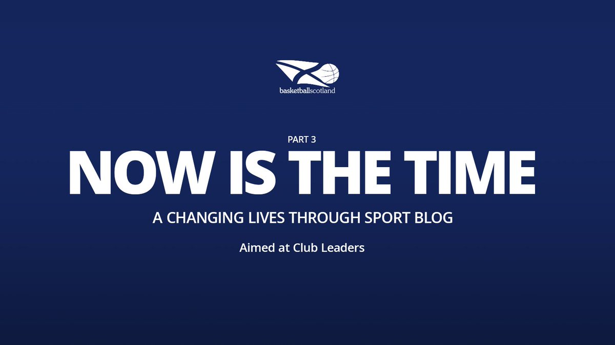 'Now is the Time' is a series of blogs for club leaders around the changing lives through sport approach. Blog 3 details how you can identify community need, whilst giving a basketball example and explores issues created from COVID-19.  Read here ➡️ https://t.co/FYyZhFwarW https://t.co/RW8xvBLKZN