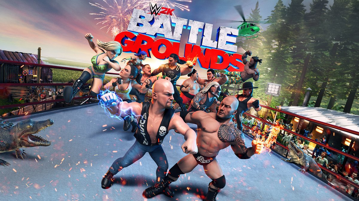Details on WWE Battlegrounds Video Game