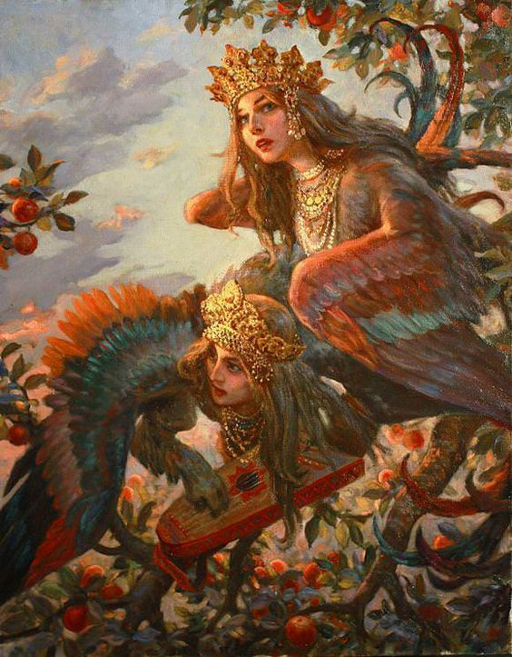 My new site and first blog are up! Read about the Alkonost and the Sirin, the mythical bird-women of Russian mythology. #fairytales #mythology https://arkhorton.com/2020/07/07/alkonost-and-sirin/ …pic.twitter.com/KYE0gyuPGC