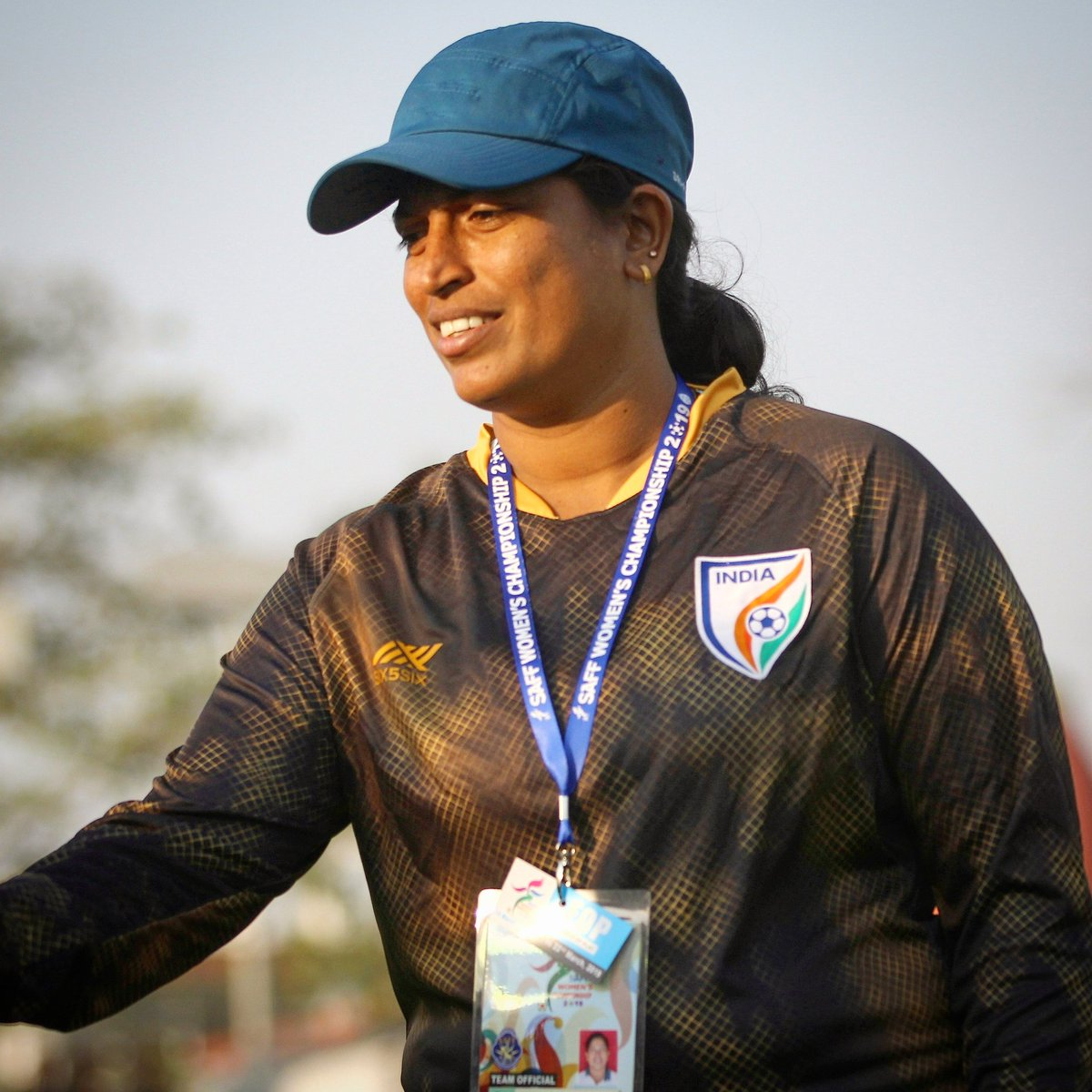 This week, we will be going LIVE 🔴 with the brains 🧠 behind the Indian Womens Team 🤩 Send in your questions for @maymolrocky using #AskMaymol 💬 , and catch her answer them on the #IndianFootball ⚽ Instagram page on Friday at 5.30 PM IST 🕠 #BackTheBlue 💙 #ShePower 👧