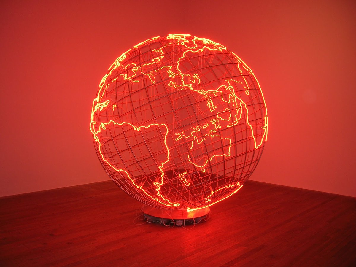 """#insightoftheday """"Often the work is about conflict and contradiction – and that conflict or contradiction can be within the actual object."""" – Mona Hatoum. https://t.co/A0zGqzVtiD"""