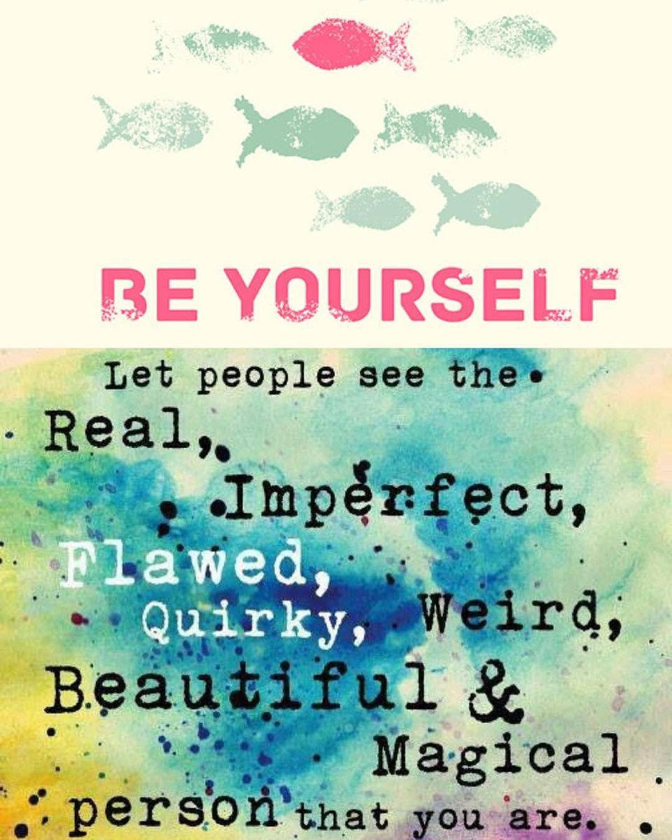To be yourself in a world thats constantly trying to make you something else is the greatest accomplishment. BE YOURSELF! #wednesdaymorning #wednesdaymotivation #wednesdaymood #wednesdaywisdom #wednesdayvibes #wednesday #motivation #quotes #quote #Inspiration #inspirationalquote https://t.co/mffbQGUtDP