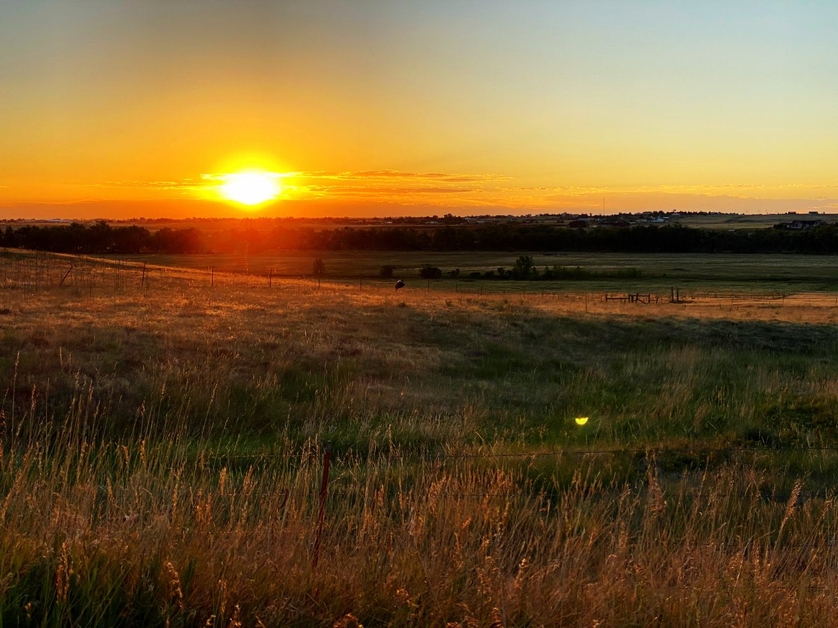 It's a new day and you can make it whatever you want it to be. Take a deep breath and decide today is your day. Then go make it happen. Let's do this. #Sunrise #Nature #Colorado #Motivation #TeamUs #300SunriseOrSunsets https://t.co/lY6cTbo1og