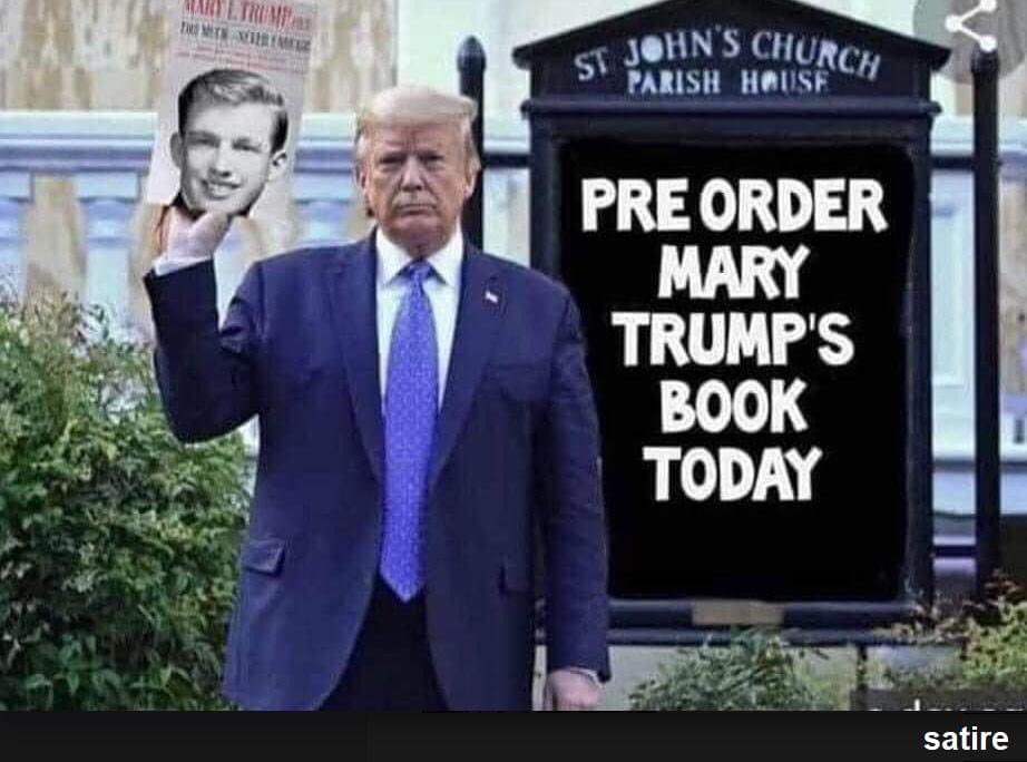 Post this on .@Facebook and watch #MarkZuckerberder ban you immediately like the RWNJ fraud that he is. #TrumpBook #TrumpIsAFailure #DumpTrumpDayNov3