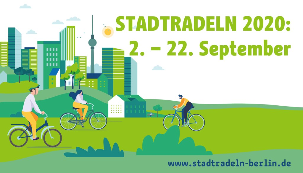 Macht Euch bereit, @STADTRADELN Berlin geht an den Start. Im September sammeln wir wieder Fahrrad-Kilometer für das Klima. Meldet Euch jetzt an. Alle Infos unter https://t.co/kEoUe0x1me. Der Kanal für alle Fälle: @stadtradeln_ber. Gerne folgen.  #klimaschutz #berlinerfahren https://t.co/SunkZerH12